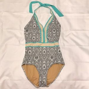 Downeast one piece swimming suit